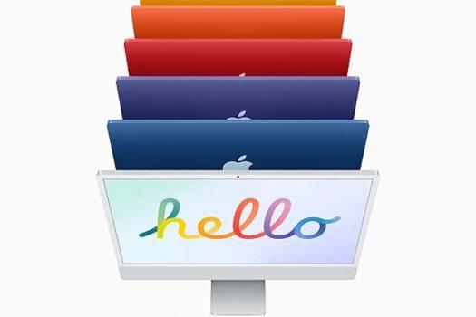 M1搭載iMac、5月21日発売