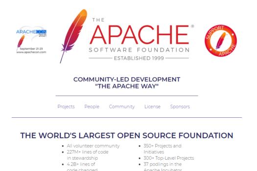 Apacheが首位陥落。